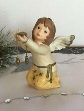 Goebel ★ Engel mit Sternenkette ★ Farbe champagner ★ Weihnachten ★ wie NEU
