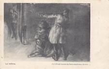 """C1881) WW1 FRANCHIGIA TEATRO DI GUERRA """"LA VEDOVA"""". NUOVA."""