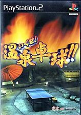 Used PS2 Got to do! Hot Spring Table Tennis Japan Import (Free Shipping)