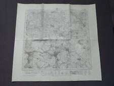 Landkarte Meßtischblatt 7327 Giengen an der Brenz, Herbrechtingen, 1945
