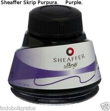 Botella Tintero Sheaffer Skrip Purple 50ml Bottled Ink (purpura)