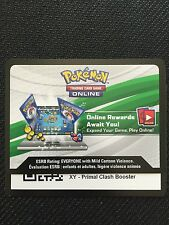Pokemon XY Primal Clash TCG online code cards (12 count)
