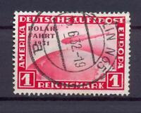 DR 456 Zeppelin Polarfahrt 1 RM gestempelt (ct31)