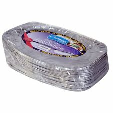 Kingfisher Disposable Serving Catering Party Foil Platters 14 Inches Pack OF 20