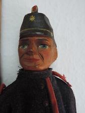 Marionette,Handpuppe,Stockpuppe,Puppentheater,POLIZIST,Holz,antik