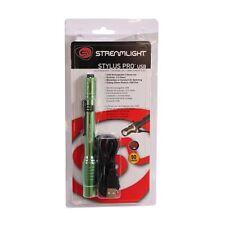 Streamlight 66144 Stylus Pro USB Rechargeable Lime LED Flashlight Light