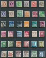 Lot Stamp Germany Post WWII Berlin Brandenburg Gate Allied Occupation U