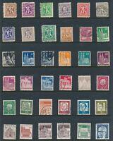 Lot Stamp Germany Post WWII Berlin Brandenburg Gate Allied Occupation U