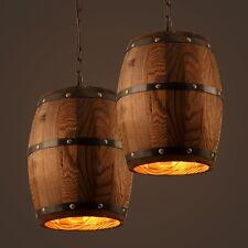 Retrò villaggio Creative di legno lampadario cucina ciondolo lampada Bar