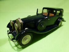 WESTERN MODELS ROLLS ROYCE PHANTOM - BLUE 1:43 - VERY GOOD