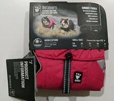 "New listing Hurtta Summit Parka Pet Dog Coat Waterproof Winter Jacket Cherry 10"" / 25cm"
