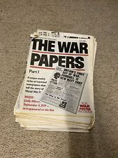 More details for the war papers - part 1 to 90 (59 missing) bulk purchase