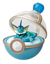 Pokemon Dreaming Case  Pikachu & Eevee Friends Vaporeon Japan import Re-Ment