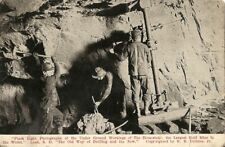 Antique Underground Photo Postcard THE HOMESTAKE Gold Mine LEAD South Dakota SD