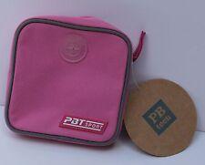 """Pottery Barn Teen Sport Pouch Small Zipper Bag Tonal Pink Rose 5.5"""""""