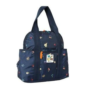 LeSportsac Sesame Collection Double Trouble Backpack in Sesame Neighbors NWT