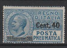 FRANCOBOLLI - 1925 REGNO POSTA PNEUMATICA MNH Z/8087
