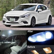 8Pcs Premium LED Lights Interior Package Kit for Mazda 3 Xenon White 2010-2017