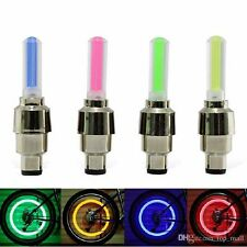 LED Flash Tyre Bike Wheel Valve Cap Light Car  Bicycle *NOW IN STOCK