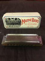 Marine Band Harmonica M Hohner Made In Germany