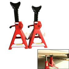 3 Ton High Lift Jack Stands 2 Pieces Car Auto Truck Garage Tools Set