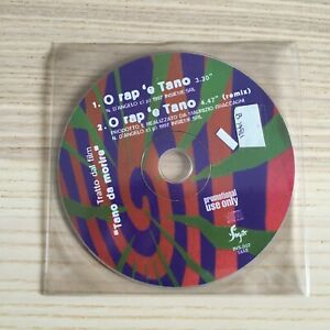 Nino D'Angelo _ O Rap 'e Tano _ CD Single PROMO_1997 Sugar INS007 Tano da Morire