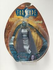 """FARSCAPE SERIES 1 ZHAAN DELVIAN PRIEST 7"""" ACTION FIGURE NIB BY TOY VAULT AGES 8+"""
