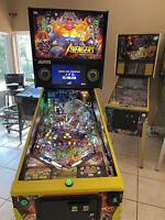 STERN AVENGERS INFINITY QUEST LIMITED EDITION LE PINBALL MACHINE ONLY 500 MADE