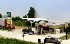 SHAMROCK RURAL SERVICE STATION & STORE HO 1/87 scale Laser cut KIT by Summit USA