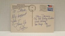 Signed REBA MCENTIRE Postcard personally sent from her - autograph