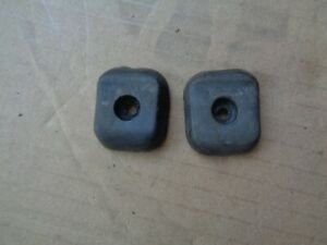 Volvo 240 wagon Rear hatch Tailgate rubber stoppers bumpers matched pair