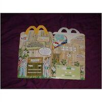 McDonalds happy meal empty box 2014 Enid Blyton Secret seven (used) uk