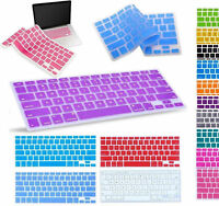 "Silicone Keyboard Skin Cover For Apple Macbook Pro Air Mac Retina 13"" 15"" 17"" ++"