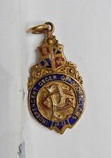 Edwardian Watch Fob Independent order of Oddfellows RD No 381470