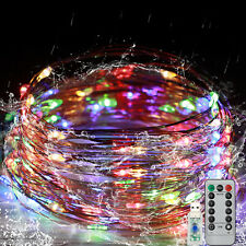 10m 32ft 100Led Christmas Tree Fairy String Party Lights Lamp Xmas Waterproof Us