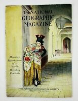 1923 National Geographic Small Promotional Booklet w/ Color Illustrations & Info