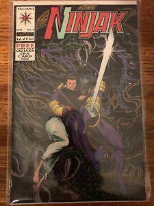 Ninjak #4 Valiant Comics May 1994 Mint with Upper Deck Valiant Era Mint Card