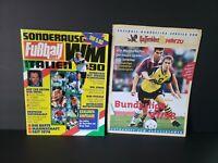 1990 Europe Soccer Magazine And 1997 1998 Bundesliga Season Preview
