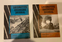 2 Issues of Locomotive Engineers Journal Magazine Aug&Sept 1946