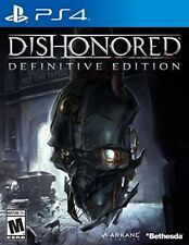 PLAYSTATION 4 GAME PS4 DISHONORED DEFINITIVE EDITION BRAND NEW SEALED