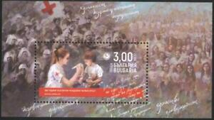 Mint S/S 100 years of youth Bulgarian Red Cross 2021 from Bulgaria   avdpz