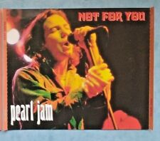 Pearl Jam – Not For You -RARE 1995 SILVER 2CD SET JAPAN