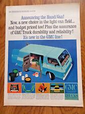 1964 GMC Handi Van Ad  Announcing the Handi-Van