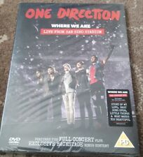 ONE DIRECTION WHERE WE ARE LIVE FROM SIRO STADIUM DVD SEALED 1D MUSIC CONCERT
