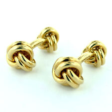 27 Grams 18K Yellow Gold Cufflinks Pair Of Tiffany & Co. Approx.