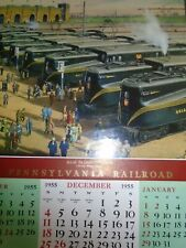 NEW SEALED Pennsylvania Railroad 2016 Calendar from Tidemark PRR