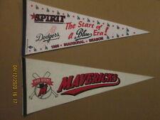 California League San Bernardino Spirit 1995 & High Desert Mavericks Pennants