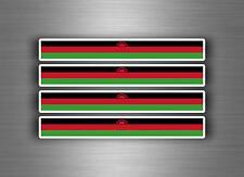 4x sticker decal car stripe motorcycle racing flag bike moto tuning malawi