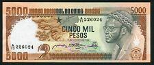 Guinea Bissau 5000 pesos 1984.09.12. President Amilcar Cabral P9 UNC