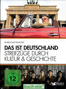 Das ist Deutschland - Streifzüge durch Kultur & Geschichte (3 DVDs)